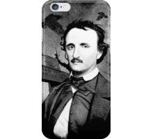 Edgar Poe Graveyard  iPhone Case/Skin