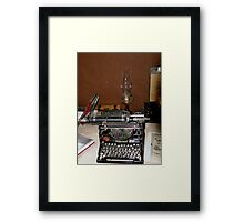 Do You Remember These ? Framed Print