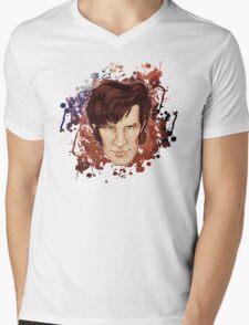 Eleventh Doctor Mens V-Neck T-Shirt