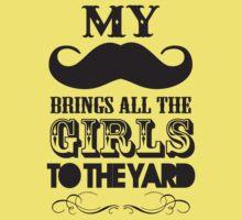 Moustache by deerokone