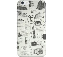 tfb doodles iPhone Case/Skin
