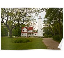 North Point Lighthouse Poster