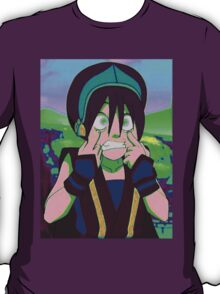 Toph Beifong - psychedelic friendly reminder that she's blind T-Shirt