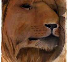 Aslan The Lion by hatefueled