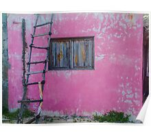 untitled (casa rosa)  Poster