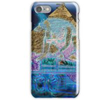 """""""Anubis Prepares the Way To Eternity"""" iPhone Case/Skin"""