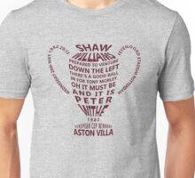 Aston Villa European Cup 1982 Alternative Unisex T-Shirt