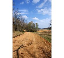The Story about The DIRT ROAD....... Photographic Print