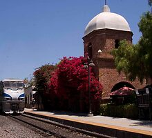 Train station, San Juan Capistrano by Harv Churchill