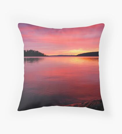Another Sunset Picture Throw Pillow