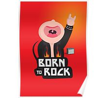 Born to rock Poster