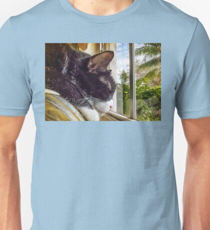 Untroubled Tropical Siesta Unisex T-Shirt