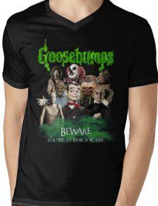 Goosebumps Mens V-Neck T-Shirt