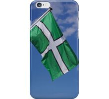 Devon Flag iPhone Case/Skin