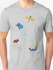 bug tracks Unisex T-Shirt