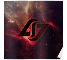 CLG COUNTERLOGIC GAMING LCS RED SPACE Poster