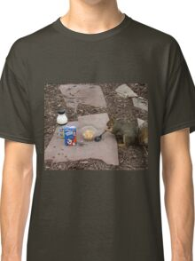 Squirrel Grabbing Grub Classic T-Shirt