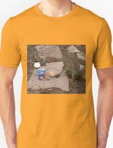 Squirrel Grabbing Grub T-Shirt