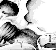 The Raging Sickness Logo front Dark Sticker