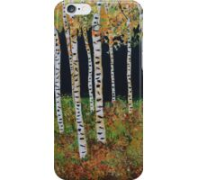 Ready for Change Colorado Aspen Tree Painting iPhone Case/Skin