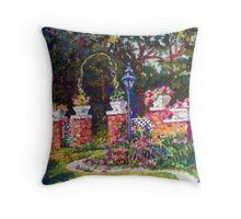 EDEN'S GATE Throw Pillow