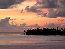 Raiatea Sunrise by Lucinda Walter