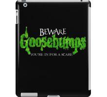 Goosebumps iPad Case/Skin