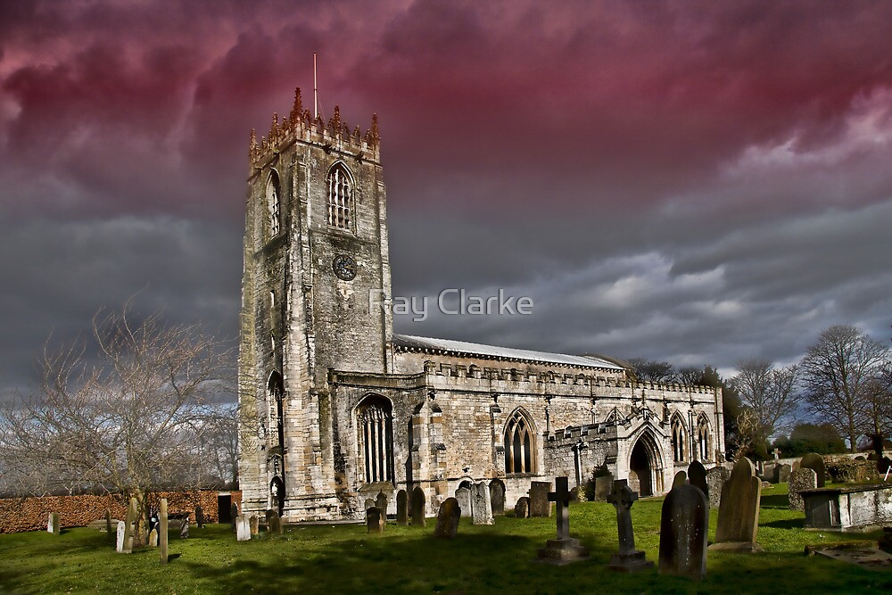 The priory church of St. Mary and St. Martin by Ray Clarke