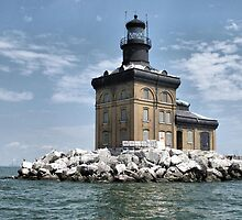 Toledo Lighthouse by Monnie Ryan