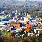 Galena IL. From A Hot Air Balloon On a Cool Fall Morning by BillH