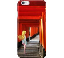 Monogatari – Shinobu Shrine iPhone Case/Skin