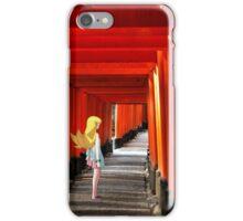 Monogatari – Shinobu Shrine iPhone Case/Skin