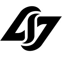 CLG COUNTERLOGIC GAMING LCS BASIC BLACK LOGO by Mike Edinger