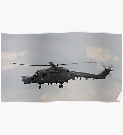 Lynx Helicopter Poster