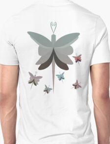 Geometric Butterfly Squadron T Shirt T-Shirt