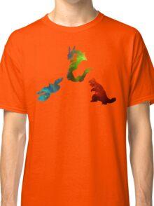 Pokemon- Clash of the Three Titans Classic T-Shirt