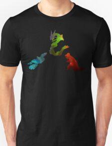 Pokemon- Clash of the Three Titans T-Shirt