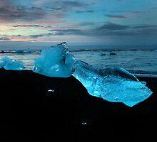 Beached icebergs by Skyeman