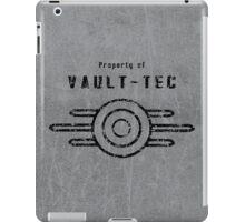 Vault-Tec (Black) iPad Case/Skin