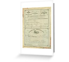 LINDSEY - DEAN  Greeting Card