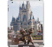 Chip and Dale in Magic Kingdom iPad Case/Skin
