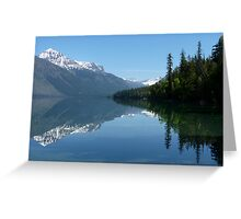 Lake McDonald - Glacier National Park Greeting Card