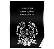 Grey Warden Motto Dragon Age Poster
