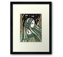 Waterbabe Framed Print