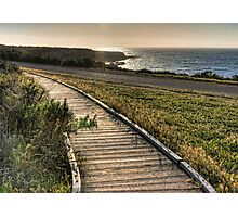 Sunset At Montana del Oro Photographic Print