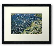 The glorious Okavango Delta in Botswana Framed Print