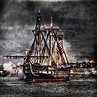 World's oldest commissioned warship afloat - USS CONSTITUTION by LudaNayvelt