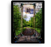 Beyond The Door Canvas Print