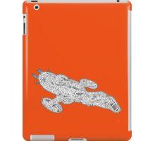 Fall Fire Fly Class Jayne Style iPad Case/Skin