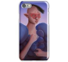 Portrait Of A Masked Elf Girl In Tikos Moon iPhone Case/Skin
